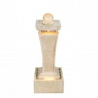 GLOBO 93029 | Globo izbová fontána svietidlo 1x LED 76lm 2460K IP65 biela