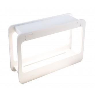 GLOBO 93102 | Dillane Globo stolové svietidlo 32cm časový spínač 1x LED 1200lm 4000K IP54 biela