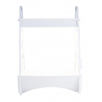 GLOBO 93103 | Dillane Globo stolové svietidlo 50,5cm časový spínač 1x LED 900lm 4000K IP54 biela