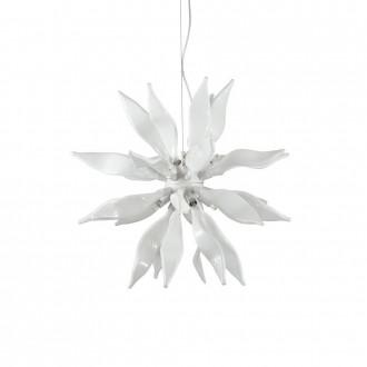 IDEAL LUX 111957 | Leaves-IL Ideal Lux visiace svietidlo - LEAVES SP8 - vedenie je možné zkrátiť 8x G9 2400lm 3000K biela