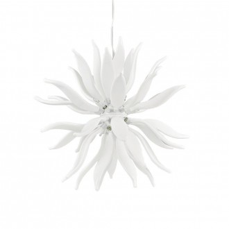 IDEAL LUX 112268 | Leaves-IL Ideal Lux visiace svietidlo - LEAVES SP12 - vedenie je možné zkrátiť 12x G9 3600lm 3000K biela
