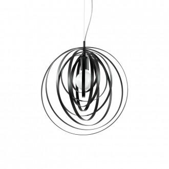 IDEAL LUX 114262 | Disco-IL Ideal Lux visiace svietidlo - DISCO SP1 NERO - otočné prvky 1x E27 matná čierna