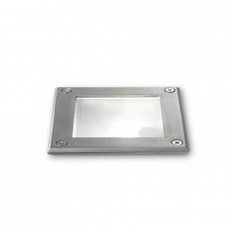 IDEAL LUX 117881 | Park-IL Ideal Lux zabudovateľné svietidlo - PARK PT1 SQUARE - 120x120mm 1x G9 IP54 oceľové, priesvitné