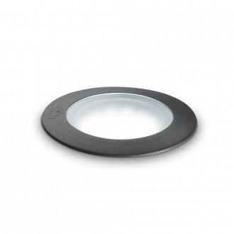 IDEAL LUX 120324 | Ceci-IL Ideal Lux zabudovateľné 5000 kg svietidlo - CECI PT1 ROUND BIG - UV vzdorný plast Ø155mm 155x155mm 1x GX53 800lm 4000K IP67 UV čierna, opál