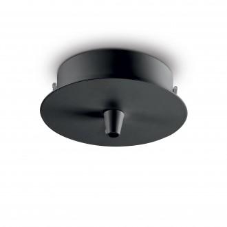 IDEAL LUX 123295   Ideal Lux doplnky doplnok - ROSONE METALLO 1 LUCE NERO - čierna