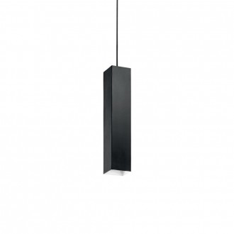 IDEAL LUX 126913 | Sky-IL Ideal Lux visiace svietidlo - SKY SP1 NERO - 1x GU10 400lm 3000K čierna, biela