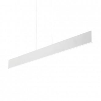IDEAL LUX 138237 | Desk Ideal Lux stenové svietidlo - DESK SP1 BIANCO - 1x LED 2100lm 3000K matný biely