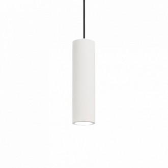 IDEAL LUX 150628 | Oak-IL Ideal Lux visiace svietidlo - OAK SP1 ROUND BIANCO - malovatelné 1x GU10 biela