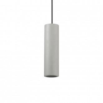 IDEAL LUX 150635 | Oak-IL Ideal Lux visiace svietidlo - OAK SP1 ROUND CEMENTO - malovatelné 1x GU10 sivé