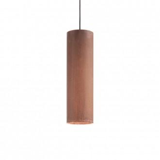 IDEAL LUX 187686 | Look-IL Ideal Lux visiace svietidlo - LOOK SP1 D12 CORTEN - 1x GU10 2700K corten, hrdzavo hnedé