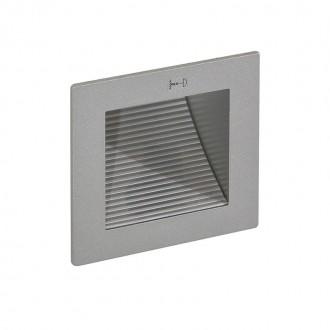 ITALUX DL-E02/SY | Soleo Italux zabudovateľné svietidlo 90x90mm 1x MR11 / GU4 sivé