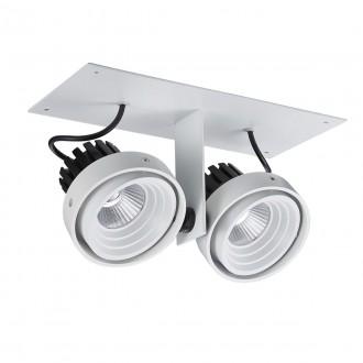 ITALUX GL7118-2/2X12W 4000K WH+BL | Patrizio Italux spot svietidlo otočné prvky 1x LED 1770lm 4000K čierna, biela