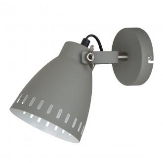 ITALUX MB-HN5050-1-GR+S.NICK | Franklin Italux rameno stenové svietidlo otočné prvky 1x E27 matná šedá, chrom, matné
