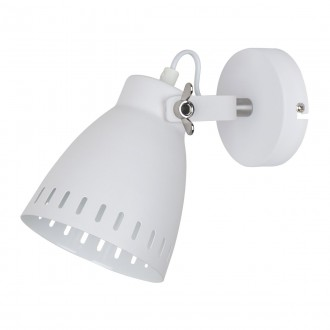 ITALUX MB-HN5050-1-WH+S.NICK | Franklin Italux rameno stenové svietidlo otočné prvky 1x E27 matný biely, chrom, matné