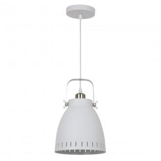 ITALUX MD-HN8026M-WH+S.NICK | Franklin Italux visiace svietidlo 1x E27 matný biely, chrom, matné