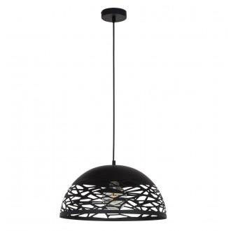 ITALUX MDM-3025/1L BK | Armand Italux visiace svietidlo 1x E27 čierna