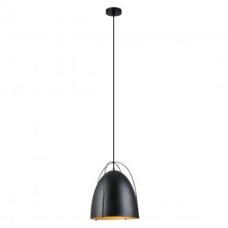 ITALUX MDM3346/1 BK | Zilla Italux visiace svietidlo 1x E27 čierna