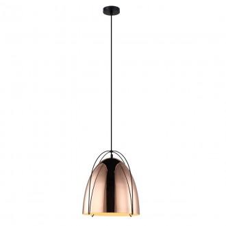 ITALUX MDM3346/1 COP | Zilla Italux visiace svietidlo 1x E27 meď - medené, čierna