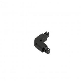 ITALUX TR-L-JOINT-BL | 4-Phase-Track Italux prvok systému - 90° koleno doplnok čierna
