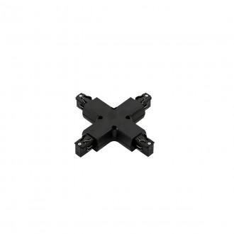 ITALUX TR-PLUS-JOINT-BL | 4-Phase-Track Italux prvok systému - krížová prípojka doplnok čierna