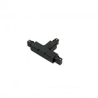 ITALUX TR-T-JOINT-BL | 4-Phase-Track Italux prvok systému - tvarovka T doplnok čierna