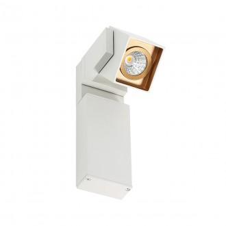 ITALUX WLB073/5W 3000K WH+GO | Aravena Italux spot svietidlo otočné prvky 1x LED 450lm 3000K zlatý, biela