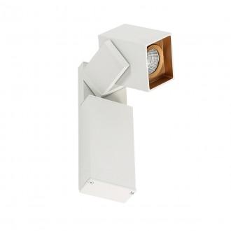 ITALUX WLB073/5W 4000K WH+GO | Aravena Italux spot svietidlo otočné prvky 1x LED 450lm 4000K zlatý, biela