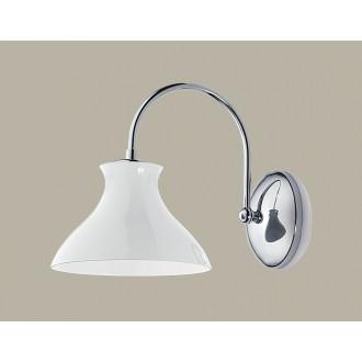 JUPITER 1250 RD K | RodosJ Jupiter stenové svietidlo 1x E27 chróm, biela