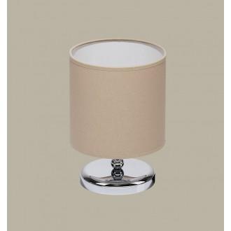 JUPITER 1272 BT L | BostonJ Jupiter stolové svietidlo 25cm prepínač na vedení 1x E27 chróm, wenge, cappuccino