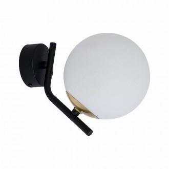 JUPITER 1734 TI K CZ/MS | Tim Jupiter rameno stenové svietidlo 1x E14 mosadz, čierna, biela