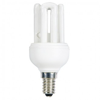 KANLUX 12698 | E14 11W -> 47W Kanlux 4U kompaktná žiarivka MINI 545lm 2700K CRI>80