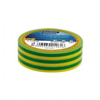 KANLUX 1277 | Kanlux izolačná páska 20 m žltá, zelená