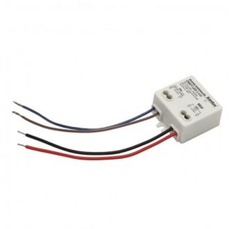 KANLUX 18040 | Kanlux LED napájací zdroj 12V DC 0-6W 0,5A štvorec biela