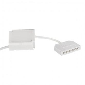 KANLUX 18042 | Kanlux LED napájací zdroj 12V DC 0-18W 1,5A obdĺžnik biela
