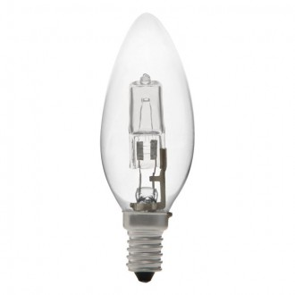 KANLUX 18441 | E14 42W -> 55W Kanlux sviečka C35 žiarovka halogénová Ecohalo 624lm 2700K