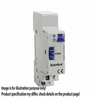 KANLUX 18730 | Kanlux vchodový automat DIN35 modul 1-7M svetlo šedá, fialová