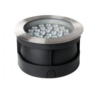 KANLUX 18982 | Turro Kanlux zabudovateľné svietidlo kruhový Ø260mm 1x LED 3000lm 4000K IP67 IK10 zušľachtená oceľ, nehrdzavejúca oceľ
