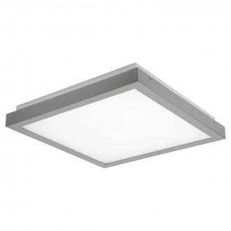 KANLUX 19011 | Tybia Kanlux stropné, visiace svietidlo štvorec 2x 2G11 / PL-L/4P IK05 sivé, biela