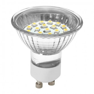 KANLUX 19040 | GU10 1,3W -> 9W Kanlux spot LED svetelný zdroj SMD 80lm 2700-3200K 70° CRI>70