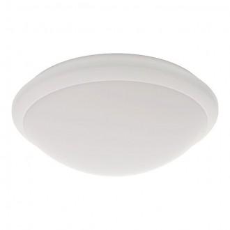 KANLUX 19060 | Daba Kanlux stenové, stropné svietidlo kruhový pohybový senzor 1x LED 1000lm 4000 - 4500K IP44 IK10 biela