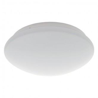 KANLUX 19061 | Daba Kanlux stenové, stropné svietidlo kruhový pohybový senzor 1x LED 580lm 4000 - 4500K IP40 IK07 biela
