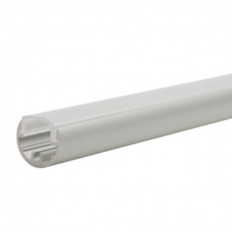 KANLUX 19160 | Kanlux hliníkový led profil A - bez tienidla - 1m pre LED pásiky max. 8 mm hliník
