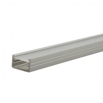 KANLUX 19161 | Kanlux hliníkový led profil B - bez tienidla - 1m pre LED pásiky max. 8 mm hliník