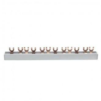 KANLUX 2156 | Kanlux prepojovacia lišta DIN35, U 12/3 svetlo šedá