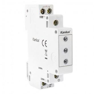 KANLUX 22070 | Kanlux LED kontrolka RGB 3in1 svetlo šedá