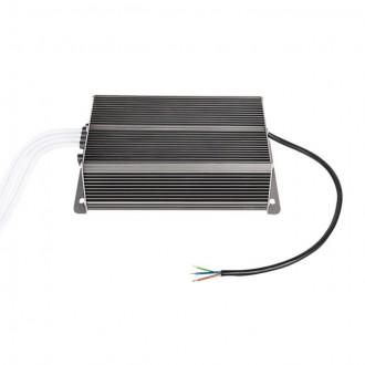 KANLUX 22082 | Kanlux LED napájací zdroj 12V DC 4x50W 16,66A obdĺžnik tepelná poistka IP66 grafit