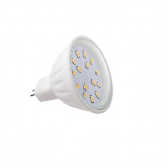 KANLUX 22203   MR16 / GU5.3 4,5W -> 34W Kanlux spot LED svetelný zdroj SMD 380lm 2700 - 3200K 120° CRI>80