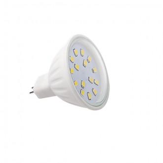 KANLUX 22204   MR16 / GU5.3 4,5W -> 35W Kanlux spot LED svetelný zdroj SMD 390lm 5700 - 6300K 120° CRI>80