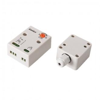 KANLUX 22371 | Kanlux svetelný senzor - súmrakový spínač doplnok IP65/20 biela