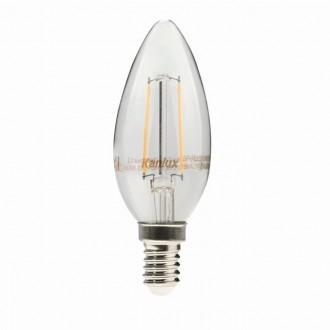 KANLUX 22466 | E14 2W -> 23W Kanlux sviečka C35 LED svetelný zdroj filament 230lm 2700K 300° CRI>80